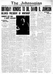 The Johnsonian January 14, 1928