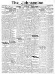 The Johnsonian October 25, 1930