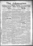 The Johnsonian October 31, 1931