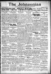 The Johnsonian September 29, 1933