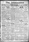 The Johnsonian October 20, 1933