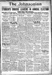 The Johnsonian March 23, 1934