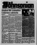 The Johnsonian November 25, 1985