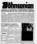 The Johnsonian Dec. 3, 1984