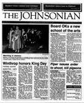 The Johnsonian January 25, 1988 by Winthrop University