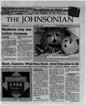 The Johnsonian November 1, 1988