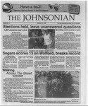 The Johnsonian February 21, 1989 by Winthrop University