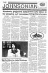 The Johnsonian Spring Edition Mar. 18, 1992