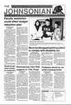 The Johnsonian Fall Edition Dec. 2, 1992 by Winthrop University