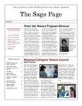 The Sage Page Spring 2011 by Winthrop University Honors Association