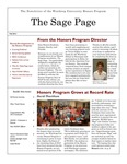 The Sage Page Fall 2012 by Winthrop University Honors Association