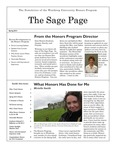 The Sage Page Spring 2013