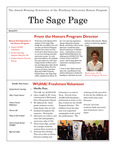 The Sage Page Spring 2014 by Winthrop University Honors Association