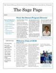The Sage Page Fall 2014 by Winthrop University Honors Association