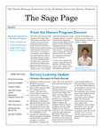 The Sage Page Spring 2015 by Winthrop University Honors Association