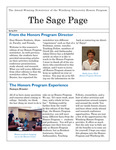 The Sage Page Spring 2016 by Winthrop University Honors Association