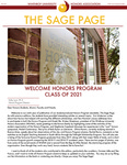 The Sage Page Fall 2017 by Winthrop University Honors Association