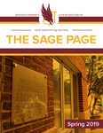 The Sage Page Spring 2019