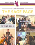 The Sage Page Spring 2020 by Winthrop University Honors Association