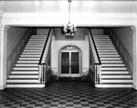 Thurmond Building interior entryway 1946 by Winthrop University