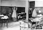 Tillman Building Dressmaking Classroom ca. 1896 by Winthrop University