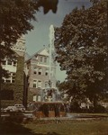 Tillman Building Front and Fountain ca. 1940s