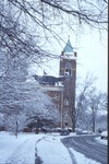 Tilliman Building in Snow 1984