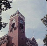 Detail of Clock Tower on Tillman Administration Building, 1969 by Winthrop University