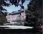 Color photo of Tillman Hall (Science Building) ca. 1940s by Winthrop University
