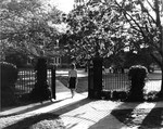 Gate in Front of Tillman Hall (Science Building) ca. 1960 by Winthrop University