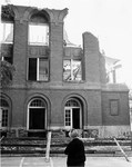 Tillman Hall (Science Building) Demolition: South Side ca. 1963 by Winthrop University