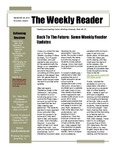Back to the Future: Some Weekly Reader Updates