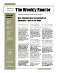 Bad Teachers, Bad Teaching, Bad Examples - Bad to the Bone