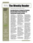 Boredom Busters: Helping Our Students Become Better Critical Readers by Confronting Pseudo-Boredom