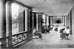 The Porch of Johnson Hall (Bancroft Hall) ca. 1915