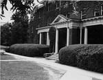 Bancroft Hall Front Entrance, ca. 1956