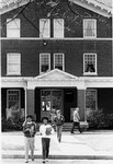 Bancroft Hall Entrance, February 1987