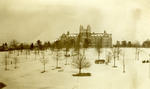 Winthrop Training School in the Snow ca 1913